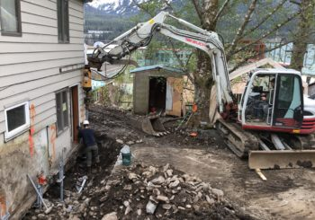Specialty foundation inspection performed in Juneau
