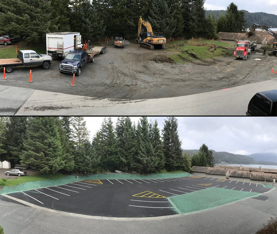 Spaulding Beach Parking Lot Reconstruction Juneau proHNS