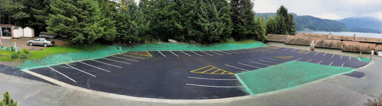 Spaulding Beach Parking Lot Reconstruction / Juneau, AK