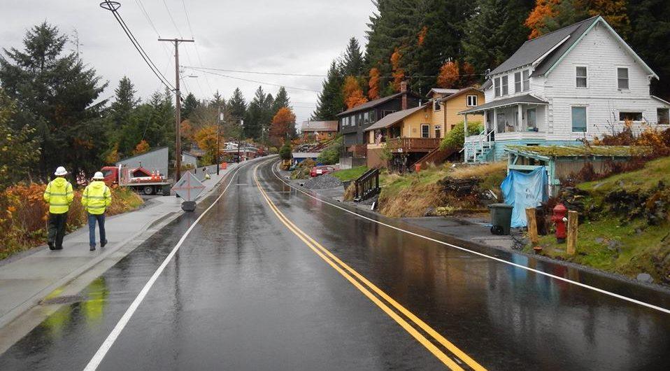 Wrangell Everygreen Road proHNS Alaska Department of Transportation